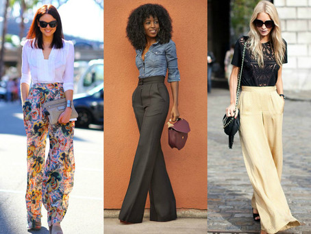 Calça Pantalona – A Calça larga voltou à moda