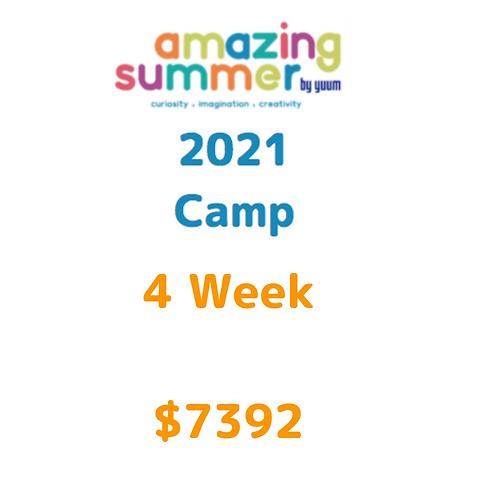 Pago de 4 semanas de Amazing Summer Camp 2021