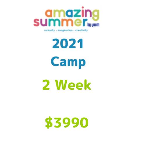Pago de 2 semanas de Amazing Summer Camp 2021