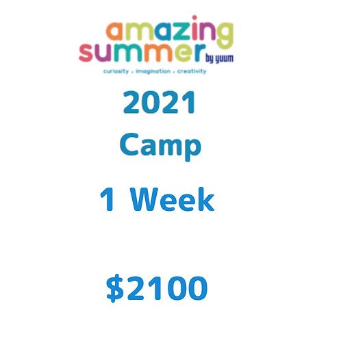 Pago de 1 semana de Amazing Summer Camp 2021