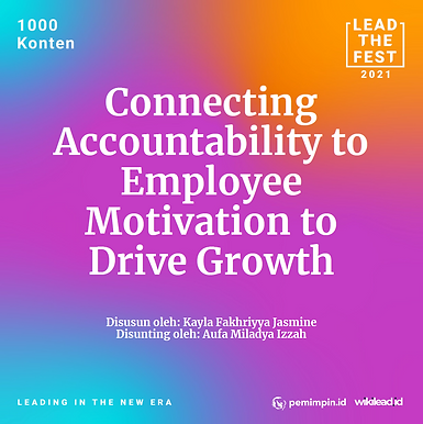 Connecting Accountability to Employee Motivation to Drive Growth