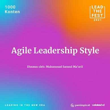 Agile Leadership Style | Executives