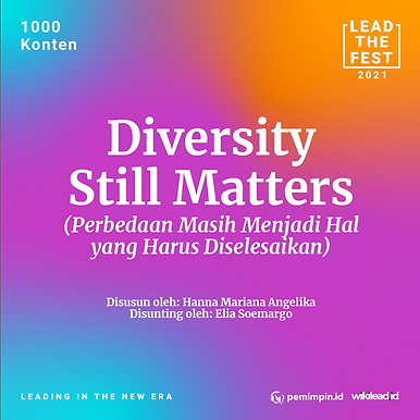 Diversity still matters