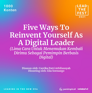 Five Ways To Reinvent Yourself As A Digital Leader