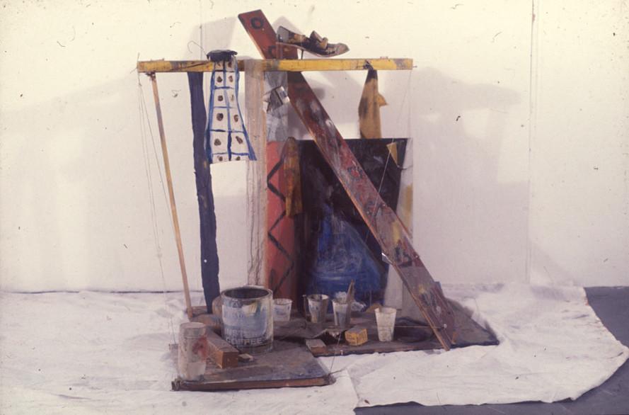 Construction, 120 x 150 x 140cm, Found Objects. 1974