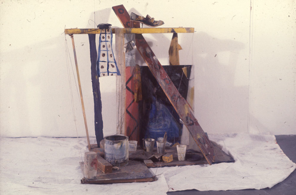 Construction, 120 x 150 x 140cm, Found Objects. 1974