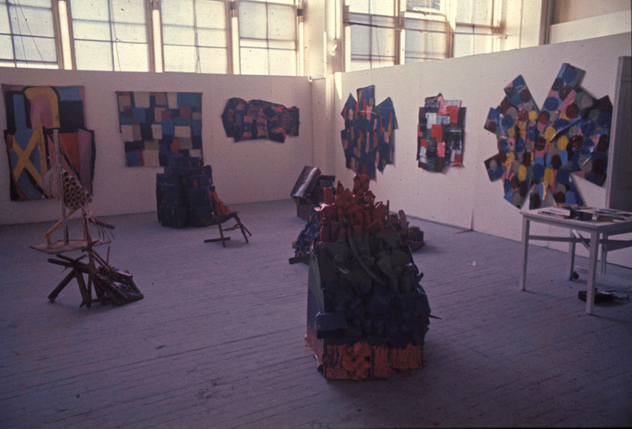My undergraduate Degree Show at the Slade 1977