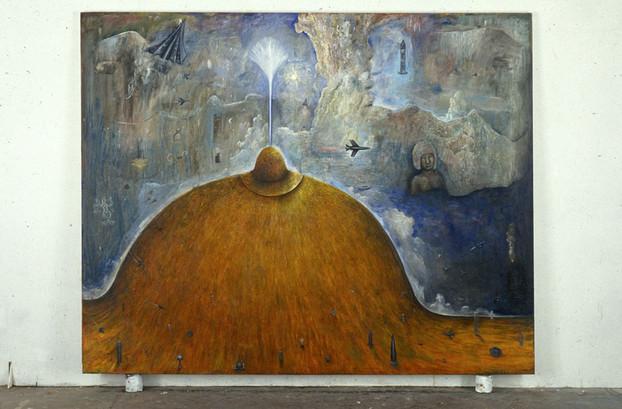 Origin of the Milky Way 244 x 305 cm Oil on Canvas 1991
