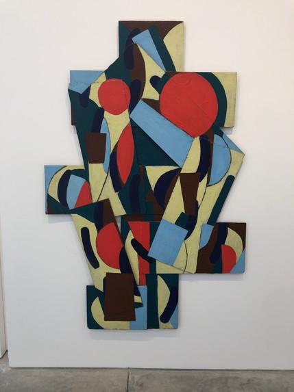 Orange Tree 183 x 122cm Acrylic on wood