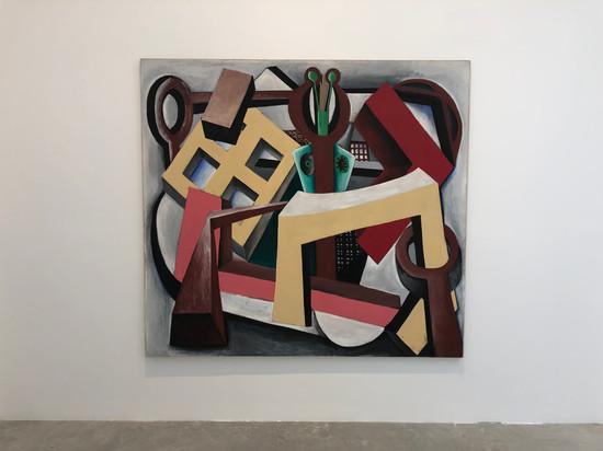 Untitled 183 x 200cm Acrylic on Canvas 1979