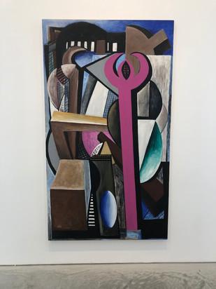 Untitled 211 x 121cm Acrylic on Canvas 1979