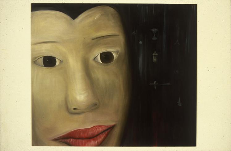 Close Head 198 x 229 cm Oil on Canvas 1998