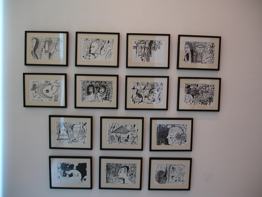 Collection of Drawings 2006 Ink on Paper