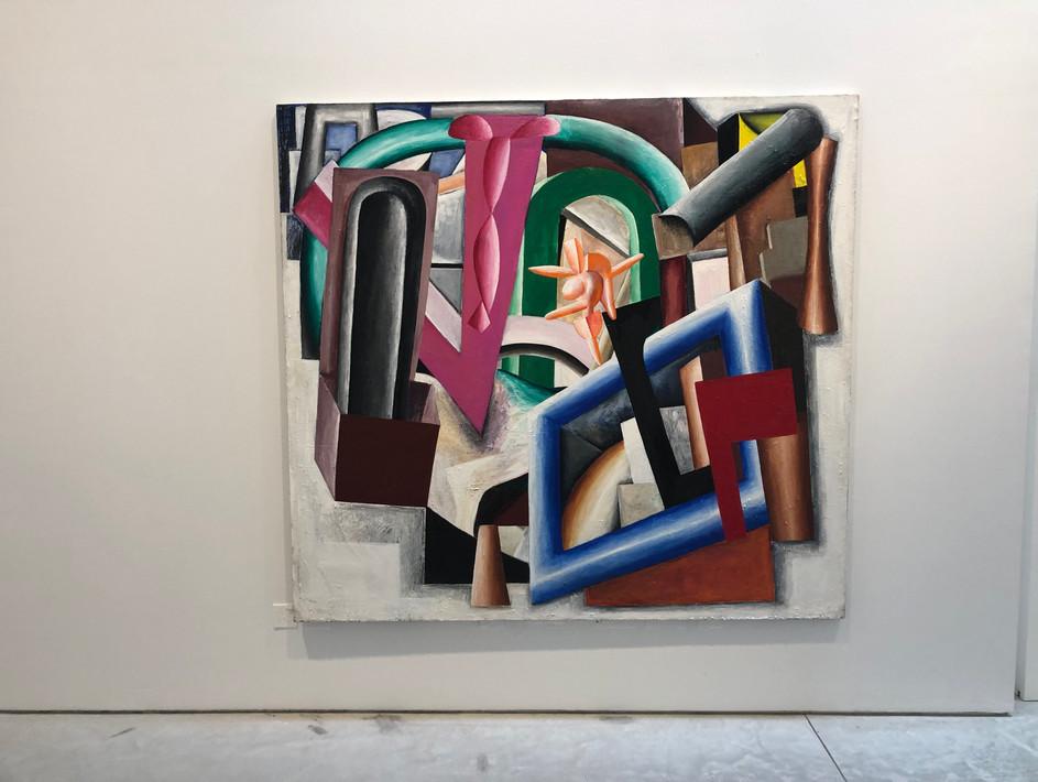 Francesco 183 x 200cm Acrylic on Canvas 1979