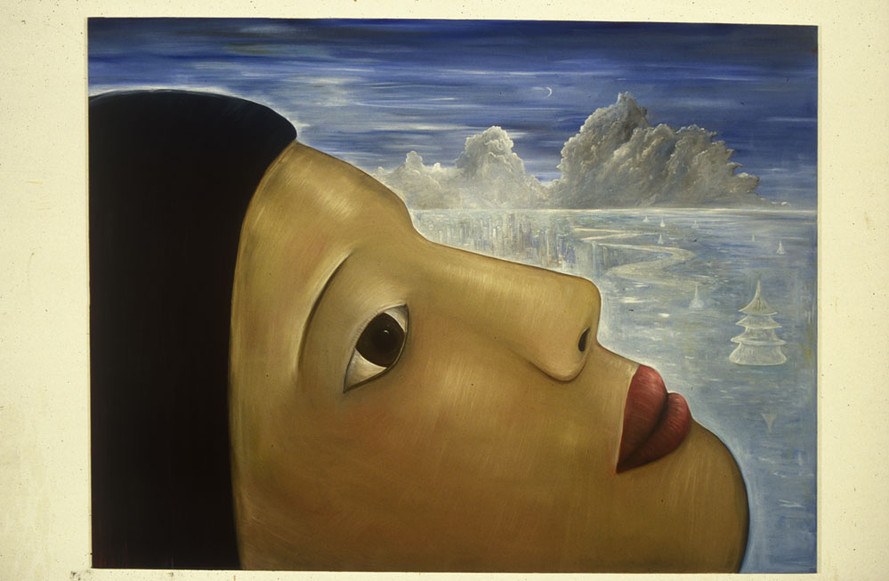 Dreaming Head 213 x 274 cm Oil on Canvas 1998
