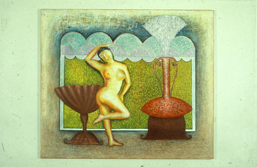 Dancer 183 x 214cm Acrylic on Canvas 1983