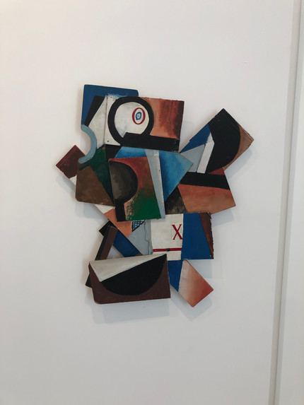 Untitled 100 x100cm Acrylic on Wood 1978