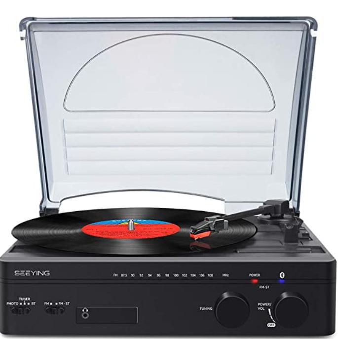 Seeying: vınyl record player
