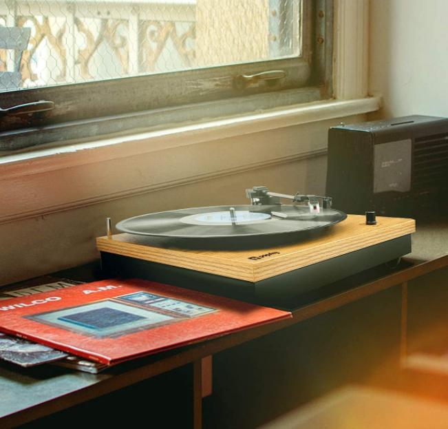 Popsky:  vınyl record player