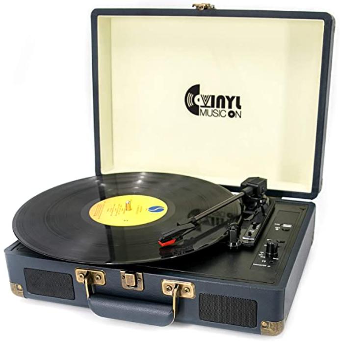 VINYL MUSIC ON:  Vinyl Record Player