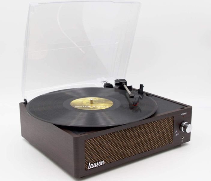lauson woodsound: vınyl record player
