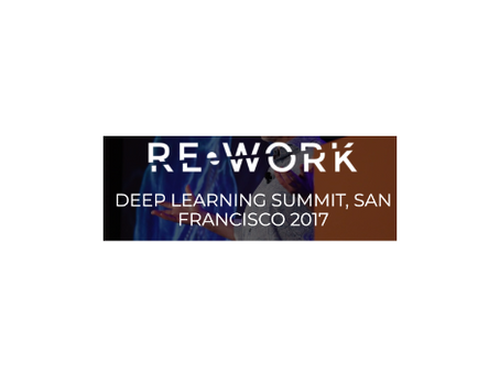 RE•WORK Deep Learning Summit SF 2017