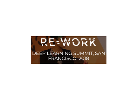 RE•WORK Deep Learning Summit SF 2018