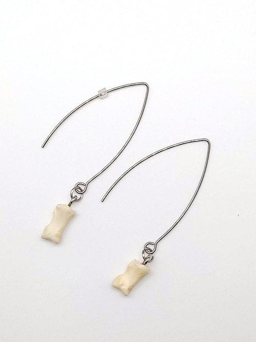 Fovea Works Coyote Bone Earrings