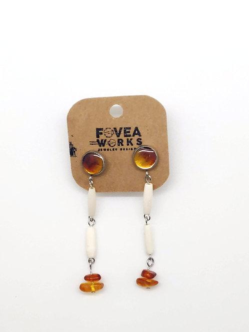 Fovea Works Bone Earrings