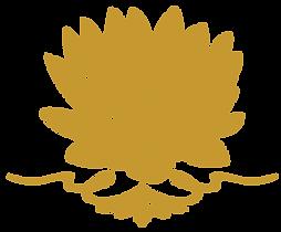 สัญลักษณ์ดอกบัวที่ป้ายพระมหาเจดีย์ศรีแสงธรรมวิสุทธิงคล