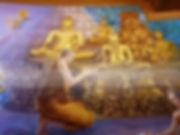 หลวงตามหาบัวนิมิตสรงน้ำพระพุทธรูปทองคำ