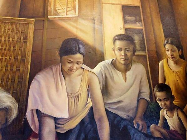 พ่อ แม่ และพี่ชายของหลวงตามหบัว