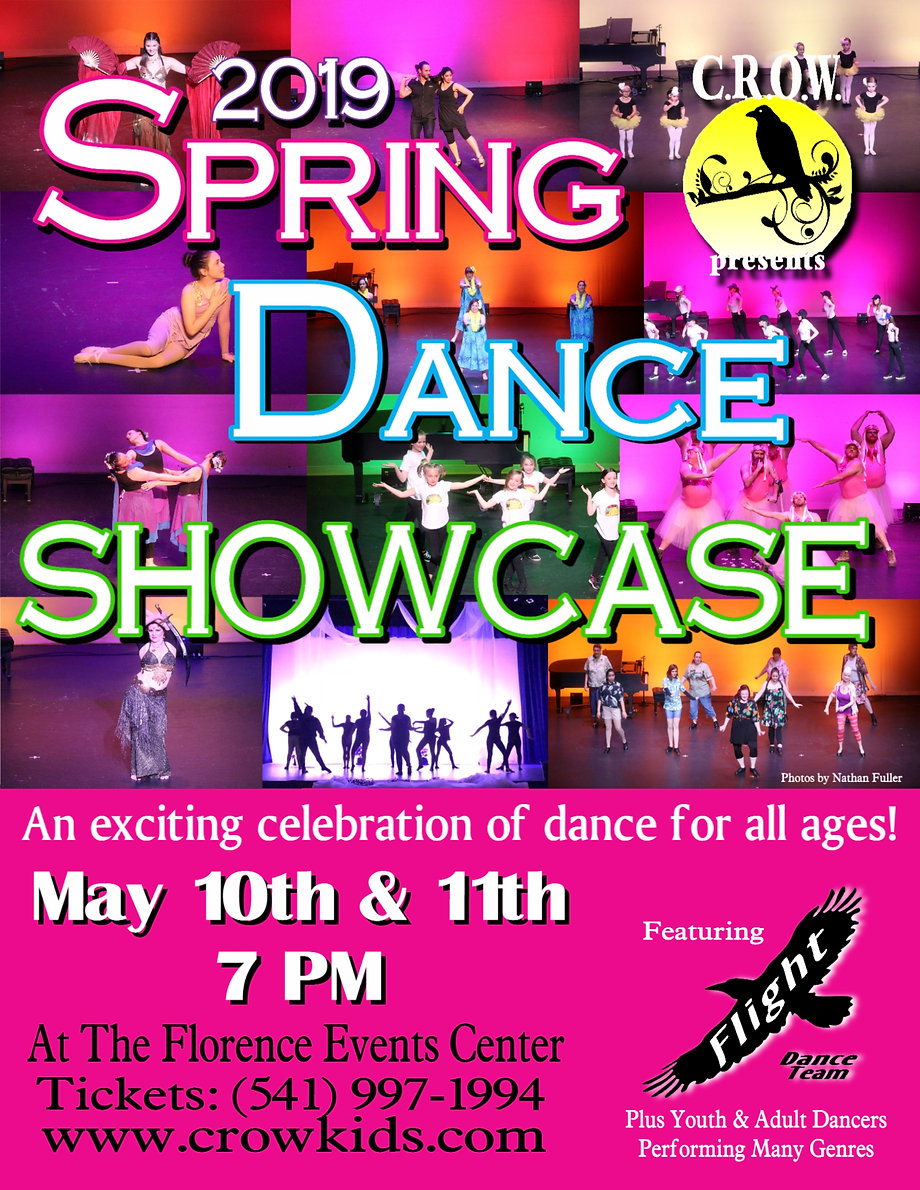 2019 Spring Dance Showcase Poster Small.