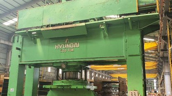 IMT2343 - HYUNDAI 700T HYDRAULIC SHIPYARD PRESS DIA. 6600 mm
