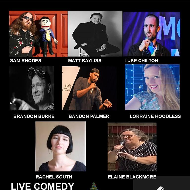 Comedy night at the cornerHOUSE Saturday December 18th  2021