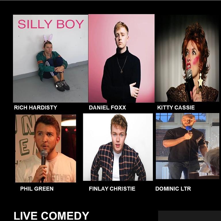 Comedy night at the cornerHOUSE Saturday November 20th  2021 (2)