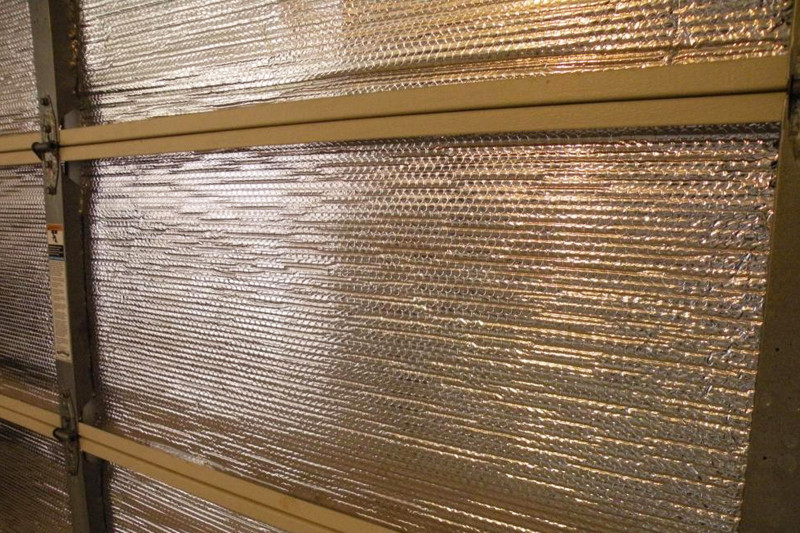 Garage door insulation - Judy Meucci Realtor