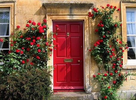 What Does a Red Door Mean?