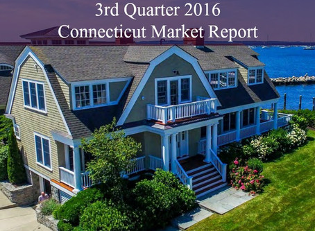 Third Quarter 2016 Connecticut Market Report