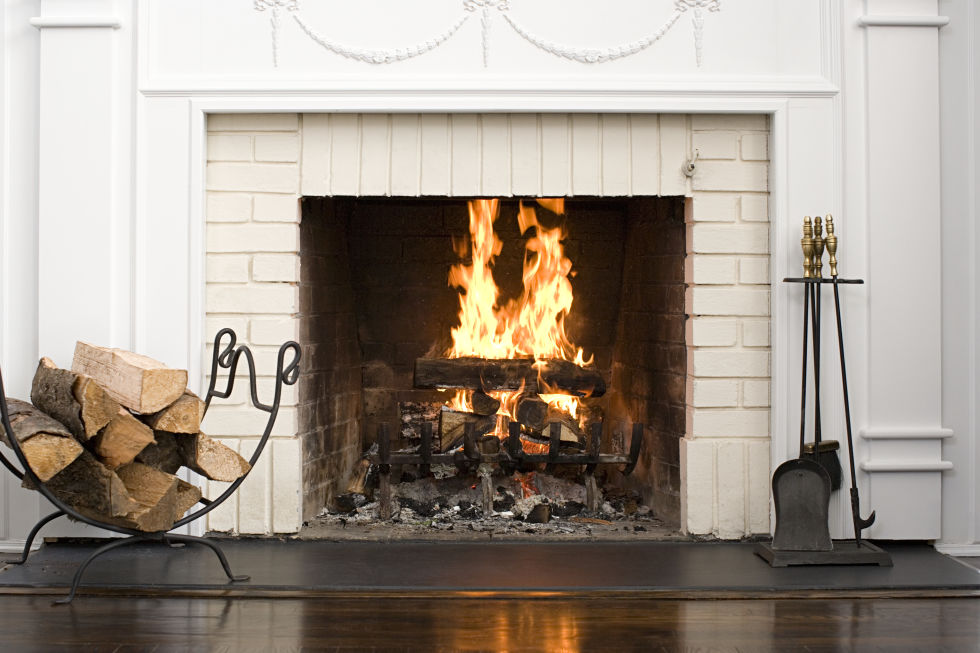 5. FUSSING WITH THE FIREPLACE