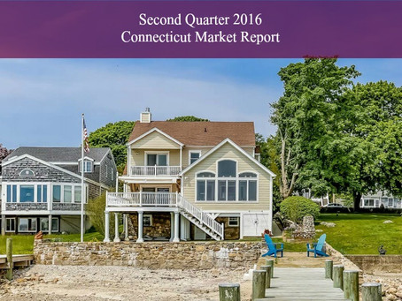 Second Quarter 2016 Connecticut Market Report