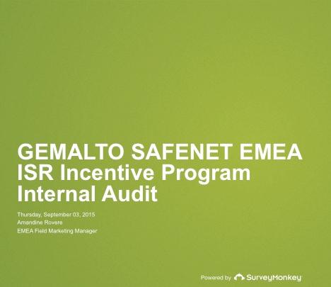Incentive Programm Initiative