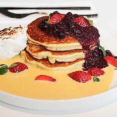 Mixed Berries Pancakes
