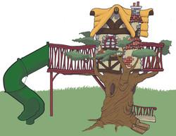 Custom Foam Tree House Concept
