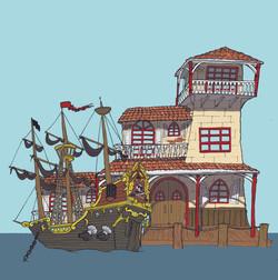 Pirates Landing for CA Theme Park
