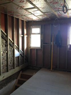New window and stud wall