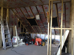New roof windows and insulation