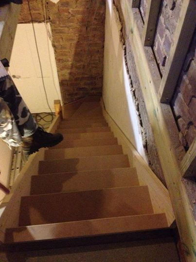 New staircase fitted