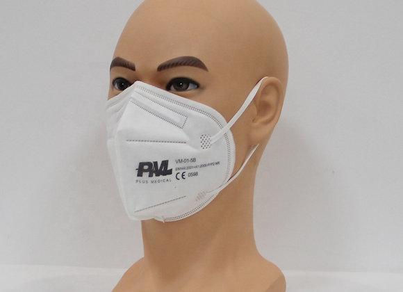 100 Stk. med. Virenschutzmaske FFP2 - CE0598,  TÜV zertifiziert