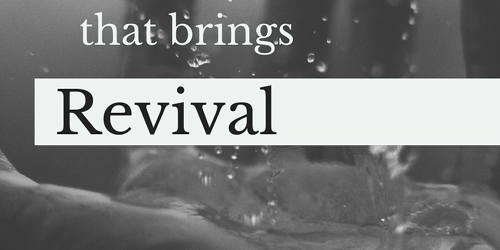 The Glory That Brings Revival